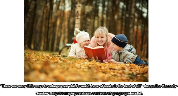 Budaya Baca Dimulai dari Keluarga