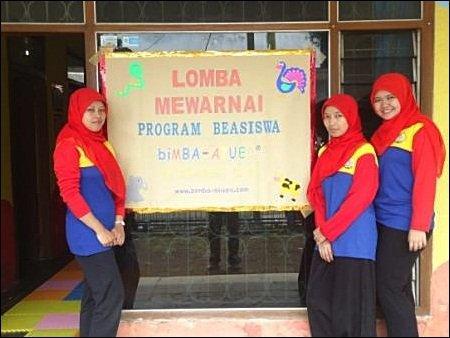 Lomba Mewarnai Program Beasiswa biMBA Singaparna