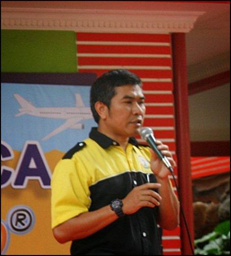 Bapak Imam Sutrisno, Direktur Pengembangan berkenan menyampaikan sambutan