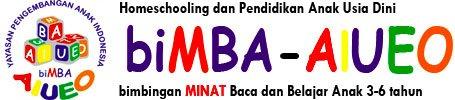 Homeschooling dan Paud biMBA-AIUEO di Jakarta, Surabaya, Bali, Makassar dan daerah lain Indonesia