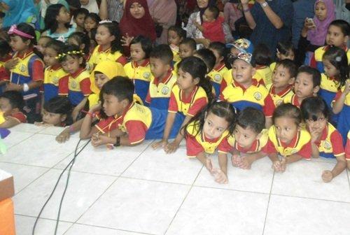 Antusiasme Anak-anak