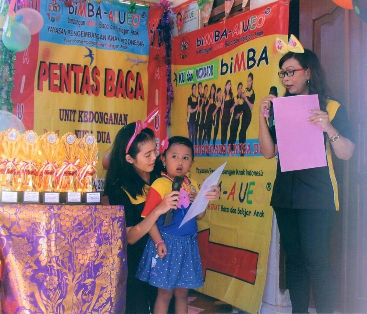 Pentas Baca Anak Unit Kedonganan Nusa Dua