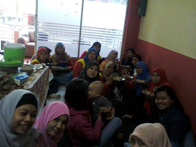 Kebersamaan antar unit di Semarang saat Launching Unit Sirojudin