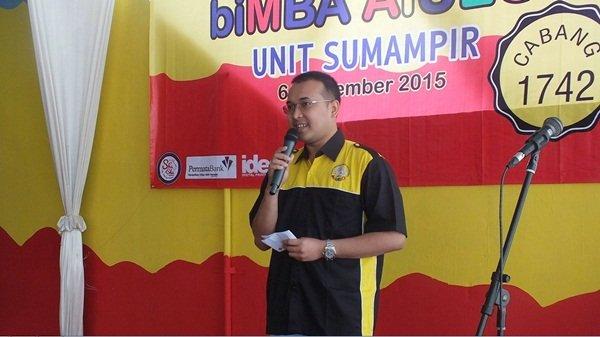Sambutan Dr. Dimas Wibowo, Mitra biMBA-AIUEO Unit Sumampir