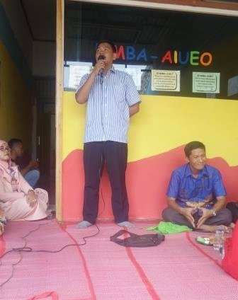 Sambutan Bapak Jamalludin di Launching Unit Parung Jaya
