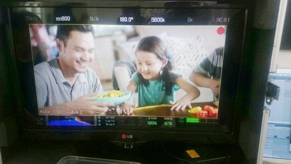 Acting Syakirah Saat Jadi Bintang Iklan