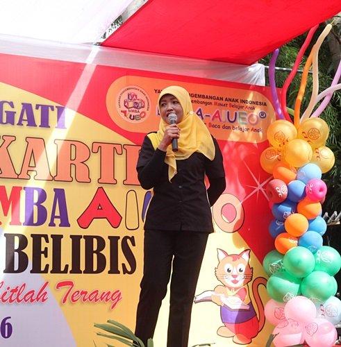 Sambutan Kepala Sekolah KB/TK biMBA Slipi