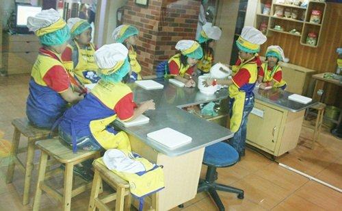 Anak-anak biMBA Menjadi Chef
