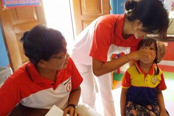 Pekan Imunisasi Nasional di biMBA Kedonganan Bali