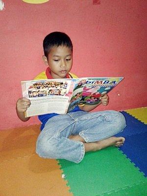 Minat Baca pada Anak
