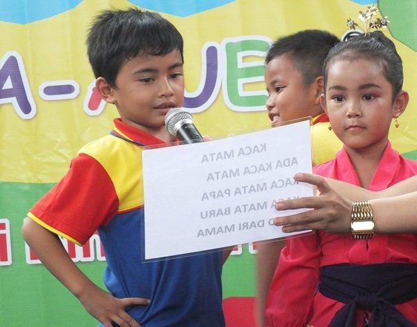 Pentas Baca biMBA Unit Puri Bintaro Hijau
