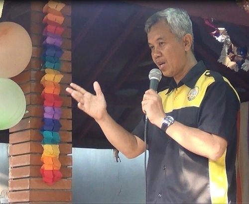 Sambutan Bapak Wiwi Yunianto, Kepala Divisi Humas YPAI di Pentas Seni 4 Unit biMBA