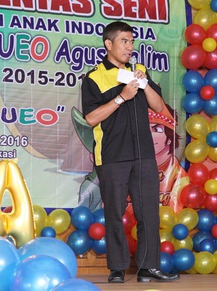Sambutan dari Bapak Imam Sutrisno, Direktur Pengembangan YPAI