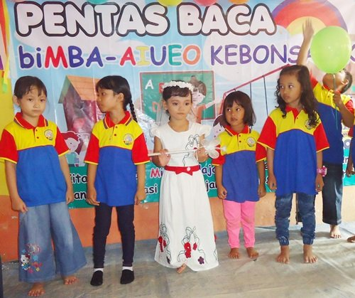Fashion Show Anak biMBA