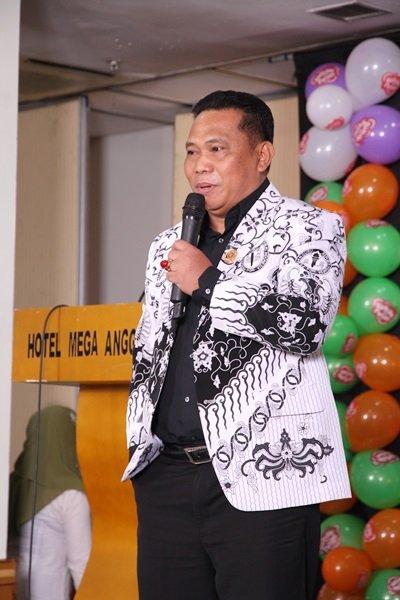 Sambutan dari Bapak Drs. Satiman MM, SEKJEN PGRI Jakarta Barat