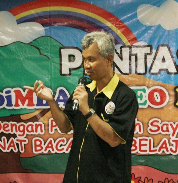Sambutan dari Bapak Wiwi Yunianto, Kadiv Humas YPAI