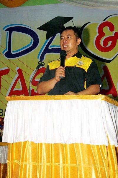 Sambutan dari Bapak Agus Suprihantoro, Selaku Perwakilan Kantor Pusat