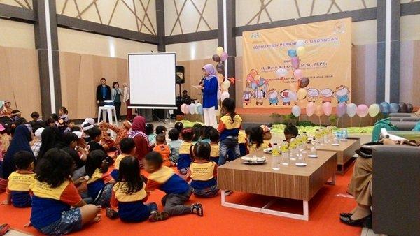 Sambutan Edukasi Pola Pengasuhan Anak