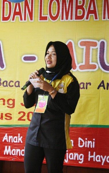 Sambutan Kepala Unit biMBA-AlUEO Parung Jaya