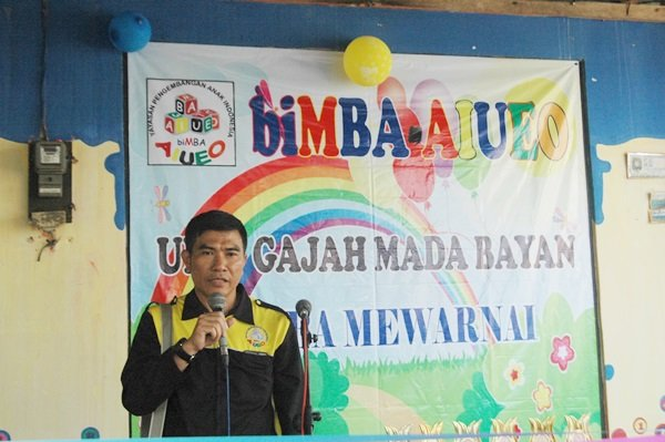 Sambutan dari Imam Sutrisno, Direktur Pengembangan YPAI