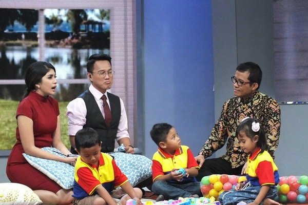 Perbincangan Minat Baca dan Belajar Anak di Sapa Indonesia Siang