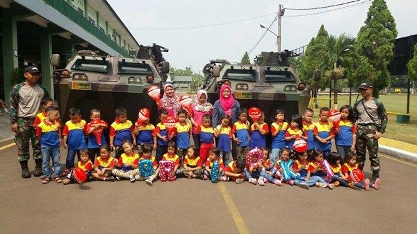 Outbound Seru Bersama TNI-AD