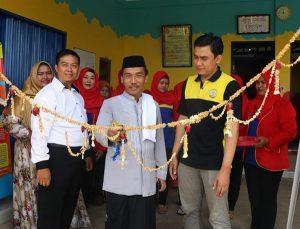 Launching biMBA Karang Sentosa dihadiri Bapak Kiai Rojali untuk menyampaikan ceramah