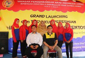 Foto bersama pada Launching biMBA Karang Sentosa