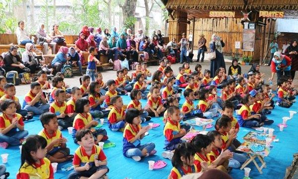 Antusiasme murid biMBA Percetakan Negara mengikuti kegiatan