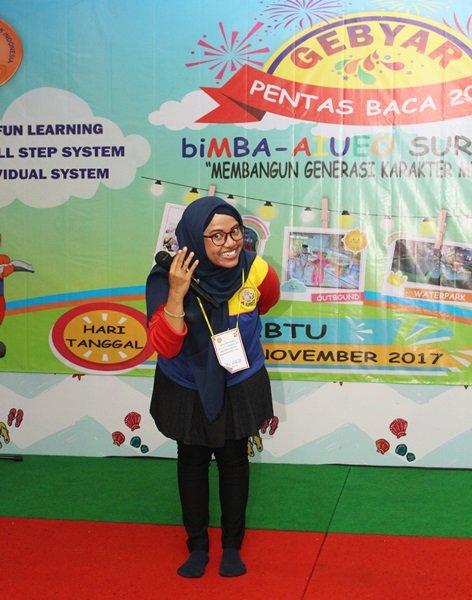 Sambutan Aulia Azizah, Korwil biMBA Surabaya