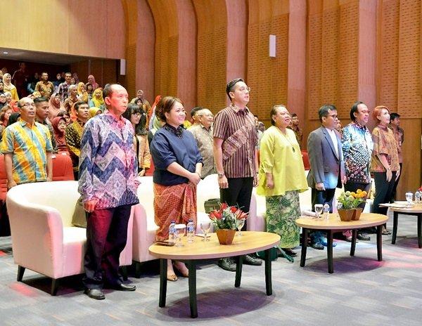 Suasana acara Talkshow di Gedung Perpustakaan Nasional, Jakarta Pusat