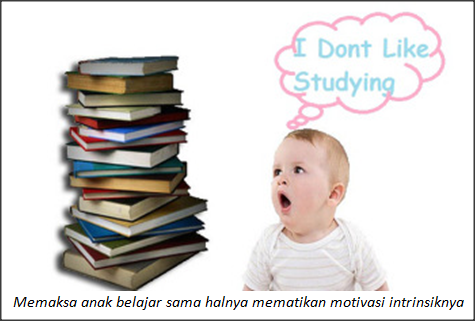 Jangan Memaksa Anak Belajar!