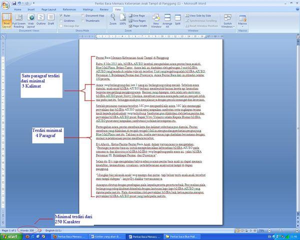 Syarat Pengiriman Tulisan2