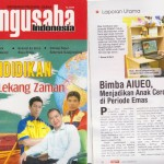 biMBA-AIUEO di Majalah Pengusaha Indonesia