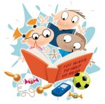 Agar Anak Gemar Membaca